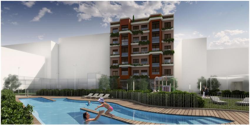 Edificio 28 viviendas. Madrid